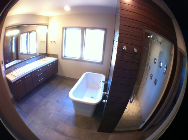 NW Contemporary Master Bath 1