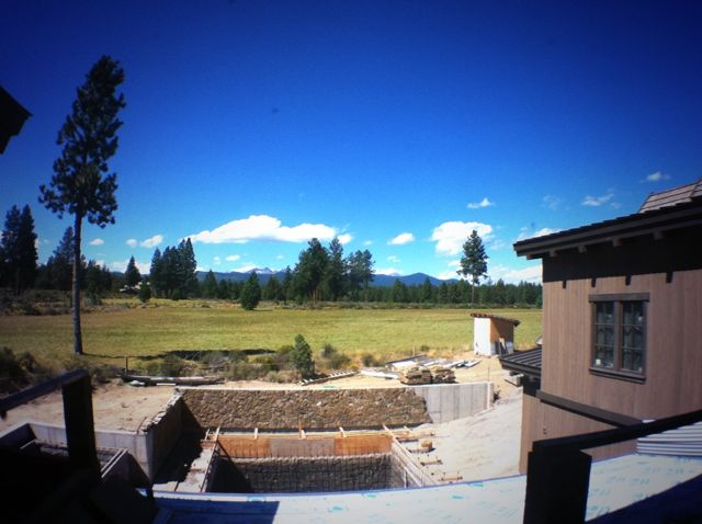 View from the Highlands in Bend Oregon