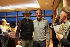Desert Rain Owner Tom Elliot and Builder James Fagan
