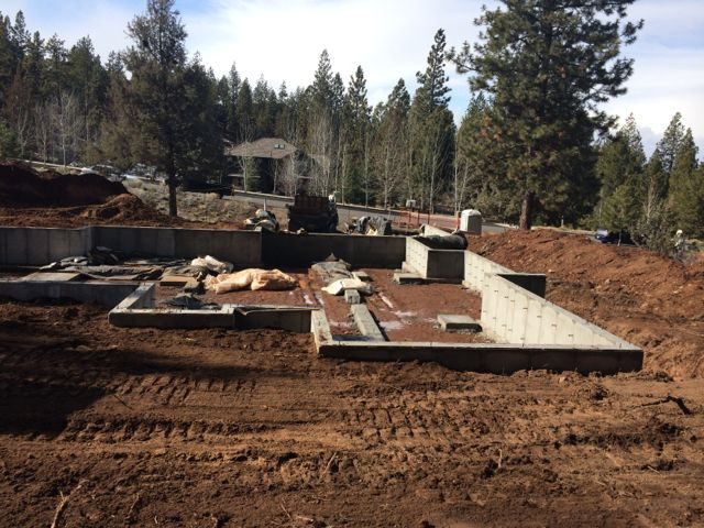 Roseborrough Custom Home Foundation