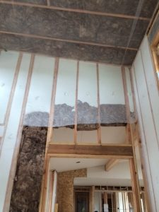 Wall insulation in Lot 23